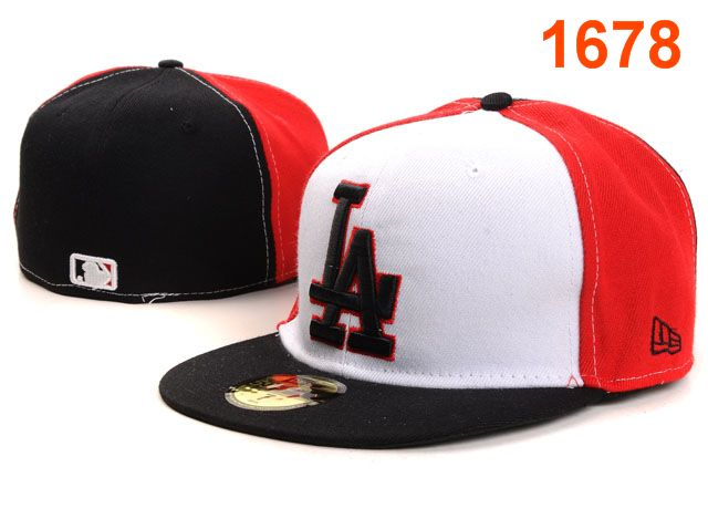 Los Angeles Dodgers MLB Fitted Hat PT09